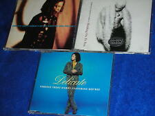 lot 3 CD maxi TERENCE TRENT D'ARBY'S featuring des'ree HOLDING ON TO YOU love me