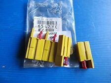 4 Porte-clips jaune 1 voie de boîte à fusible pour 406