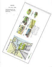 1984 TOPICAL RAILROAD COVER IRELAND - IRISH RAILWAYS S/S