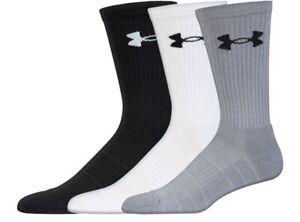 Under Armour U257 Men's UA Elevated Performance Crew Socks (3 Pack) 1282023
