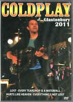 Coldplay DVD Galstonbury 2011 Brand New Sealed