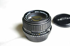 Pentax-M SMC 50mm F1.4 in very good condition.