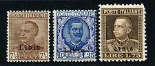 Italienisch-Libyen Libia 1928 König Viktor Emanuel III 68-70 A Postfrisch MNH/4