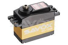 Savox sc1256tg couple élevé titane haute fréquence digital servo 20kg@6.0v