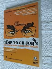 Time To Go John (DVD, 2005) REGION-ALL, LIKE NEW, FREE POST IN AUSTRALIA