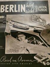 Selten Berlin hört und sieht vereinigt mit Europastunde,Zeitschrift, 1940,Nr32