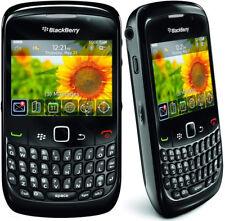 "Original BlackBerry Curve 8520 2.46"" 2G GSM 850/900/1800 /1900 Wifi Cellphone"