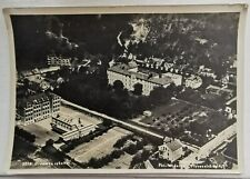 Vintage air photo postcard: Drammen Hospital, Norway. Mailed to Denmark in 1937