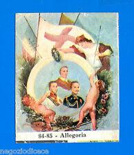 CENTENARIO UNITA D'ITALIA - Figurina-Sticker n. 84-85 - ALLEGORIA -Rec