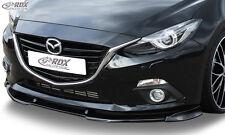 RDX FRONT SPOILER VARIO-X per Mazda 3 (BM)