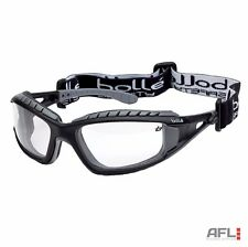 Bolle Tracker TRACPSI Anti Fog Scratch Clear Lens Vented Safety Goggle Glasses