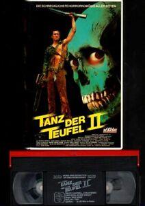 VCL Video  Bruce Campbell   TANZ DER TEUFEL II  Sam Raimi   VHS Rarität  FSK18