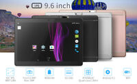 9.6'' Google Tablet PC Android 5.1 Quad Core 1+16GB 10 Inch HD WIFI 3G Phablet