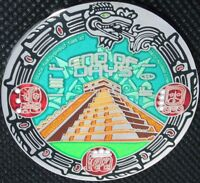 MAYAN END OF DAYS GEOCOIN - LE - NICKEL - NEW - U/T