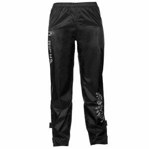 Richa Rain Flower Ladies Pants 100% Waterproof Motorcycle Over Trousers - Black