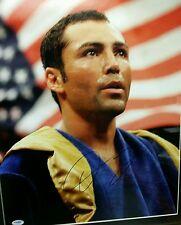 Oscar De La Hoya signed framed & matted  16×20 PSA authenticated