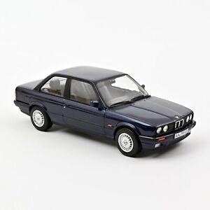 NOREV 183201 - BMW 325i 1988 - Blue metallic 1/18