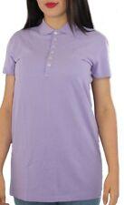Polo Ralph Lauren womens purple polo short sleeved long tunicpolo top dress PM55