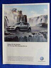 VW Touareg - Werbeanzeige Reklame Advertisement 2007 __ (426
