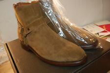 NIB FRYE Men's Weston Harness Chestnut Soft Oiled Suede 11.5 D US med US $428