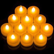 Velas decorativas amarillos de plástico para el hogar