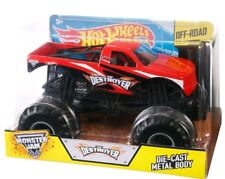 NEW Hot Wheels Monster Jam 1:24 Scale Destroyer Vehicle FREE SHIPPING