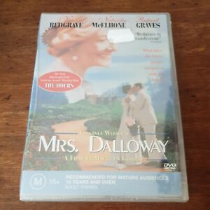 Mrs Dalloway Virginia Woolf DVD R4 BRAND NEW SEALED! FREE POST