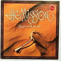 THE MISSION ‎– Grains Of Sand - 1990 Vinyl LP Album VG+/VG+
