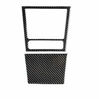 1Set Ashtray panel Frame Carbon Fiber Trim Sticker For VW golf 6 gti R MK6 08-12