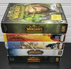 Lot Of Pc Games Computer World War Craft, Everquest, Planet Side