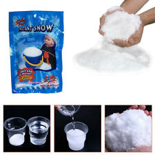 Fluffy Instant Xmas Magic Snow Powder Artificial Christmas Decoration Fake Decor
