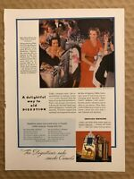 RARE Vintage 1936 color CAMEL CIGARETTES Color AD Miss Rose Winslow New York