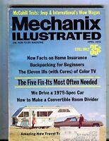 Mechanix Illustrated Magazine April 1972 Travel Trailers 062817nonjhe