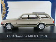 BoS 87300 Ford Granada MK II Turnier (1981) in beigemetallic 1:87/H0 NEU/OVP