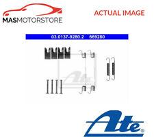 BRAKE DRUM SHOES FITTING KIT REAR ATE 030137-92802 I NEW OE REPLACEMENT