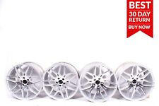 """Mercedes W211 W221 20"""" Staggered Giovanna Wheels Silver Rims Set of 4 A73"""
