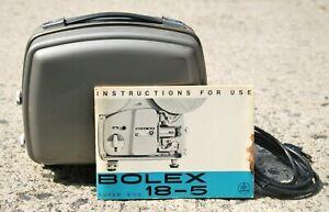 Bolex Paillard 18-5 L Super 8mm Movie Projector Tested Vintage Projection Equip