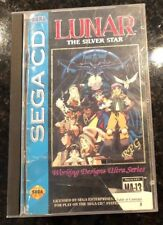 Lunar The Silver Star Sega CD Game and Case + Manual Original