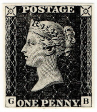 (I.B) Cinderella Collection : Penny Black Exhibition Reprint (1950)