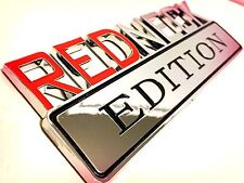 100% REDNECK EDITION EMBLEM CHEVROLET car TRUCK DECAL logo SIGN RED NECK 001