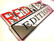 100% REDNECK EDITION EMBLEM CHEVROLET car TRUCK DECAL logo SIGN RED NECK 001