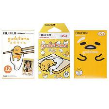 Sanrio Gudetama FujiFilm Instax Mini Film Polaroid 30 Instant Photos Value Set