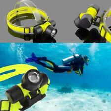 HOT 30m ABS 1200 LM  Q5 LED Waterproof Swimming Diving Headlamp Headlight WT