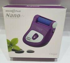 Emjoi Micro-Pedi Nano Portable Pedicure Callus Buffer Remover Purple Dry Skin