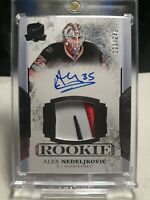 ■□■ 2018-19 Alex Nedeljkovic Upper Deck The Cup RPA /249 Rookie 3 CLR Patch ■□■