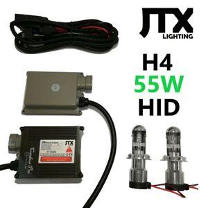 H4 9003 JTX HID Kit 55W 12V 24V XENON Hi/Lo suits FORD FPV DAIHATSU FIAT