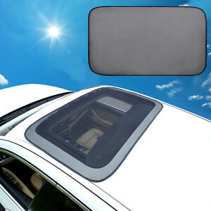 Magnetic Car Sunroof Sun Shade Moonroof Mesh Car Roof Cover Camping Bugs Screen