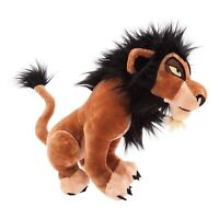 "OFFICIAL DISNEY The Lion King Scar Medium Soft Toy Plush 14"" Simba Uncle **NEW**"