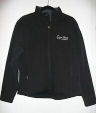 Seven Stars Total Rewards Black Zip Front Track Jacket Size M Rare Fossa Brand