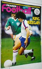 FRANCE FOOTBALL 1707 27 DECEMBRE 1978 KEVIN KEEGAN BALLON D'OR HAMBURG SV HSV